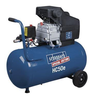 Kompresor HC 50 E Olejový kompresor se vzdušníkem 50 l