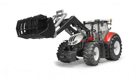 Bruder Traktor Steyr 6300 Terrus + nakladač