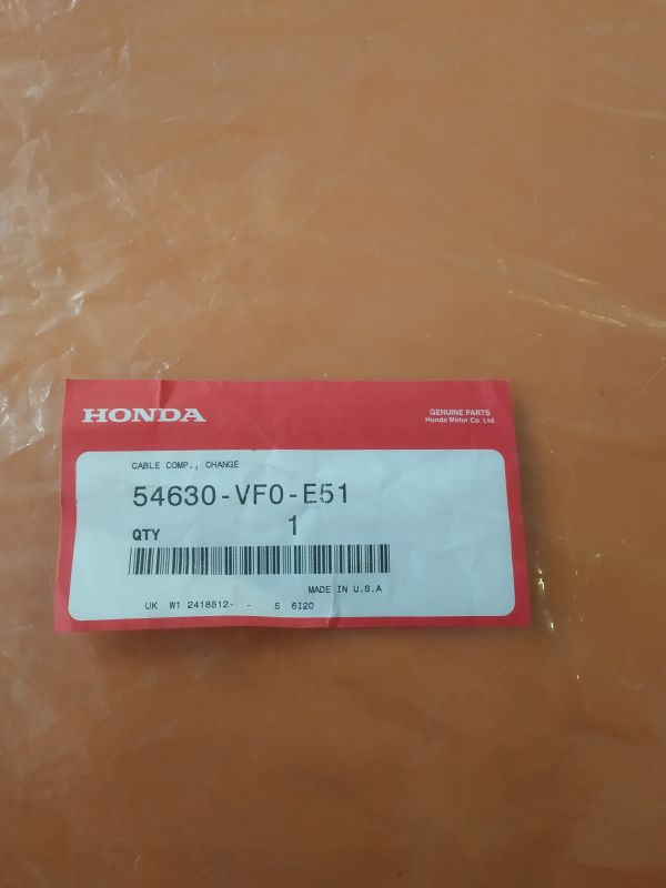 Bowden pojezdu variátoru sekačky HONDA HRD536 TXE