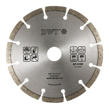 diamantový segmentovaný kotouč 125 mm (abrazivní materiály)