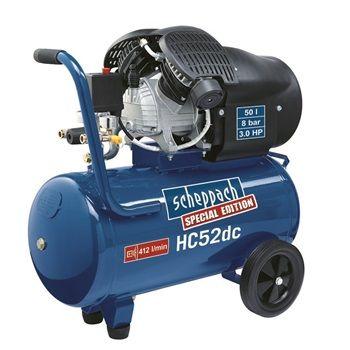 HC 52 dc - dvoupístový olejový kompresor 50 l