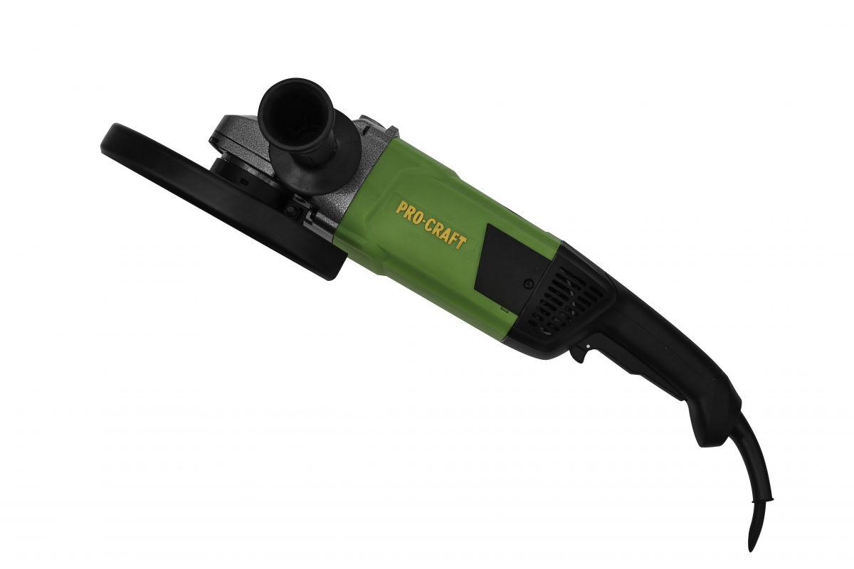Bruska úhlová PROCRAFT 230mm PW2600 PRO Craft