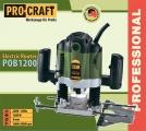 El. horní frézka PRO Craft POB1200