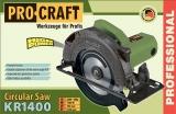 El. kotoučová pila PRO Craft KR1400