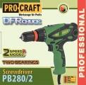 El. šroubovák PRO Craft PB280/2