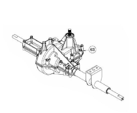 Převodovka MTD - 618-07408 + díly pro přestavbu
